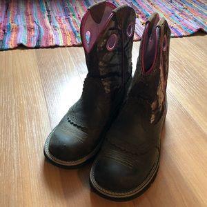 Ariat far boy work boots